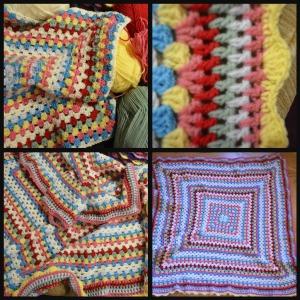 Cath Kidston-esque lap blanket